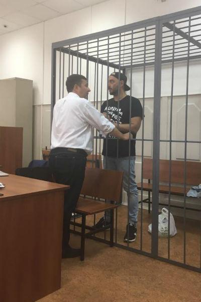 Кирилл Серебренников на заседании суда