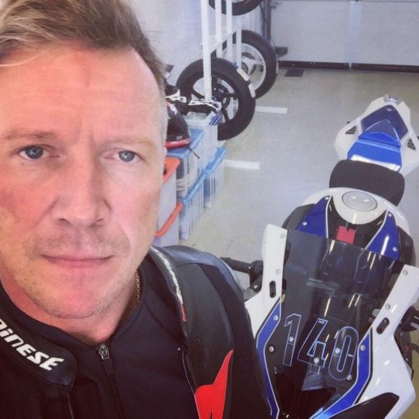 Актер обожает свои мотоциклы