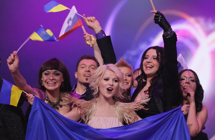 Мика представлял Украину на Евровидении
