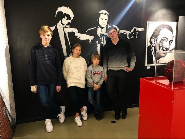 Аршавин теперь проводит время с детьми от Юлии Барановской