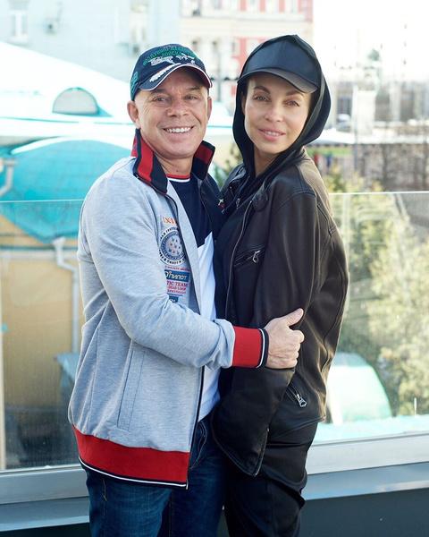 Олег Газманов и его жена Марина