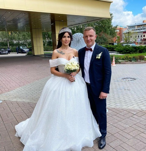 Свадьба Ильи Яббарова и Анастасии Голд — фото