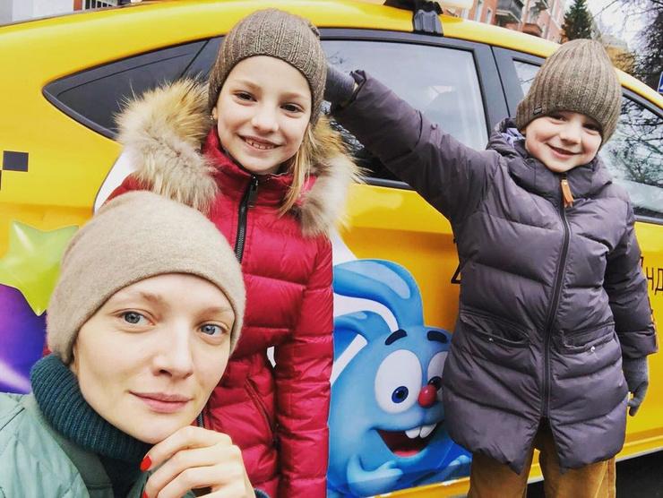 Екатерина Вилкова: «Детей мы с мужем разделили»