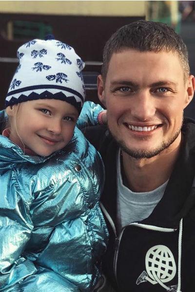 Александр Задойнов с дочерью