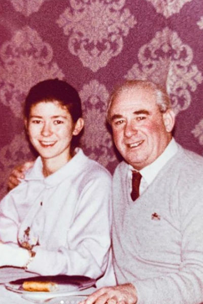 Ольга всегда была близка с отцом