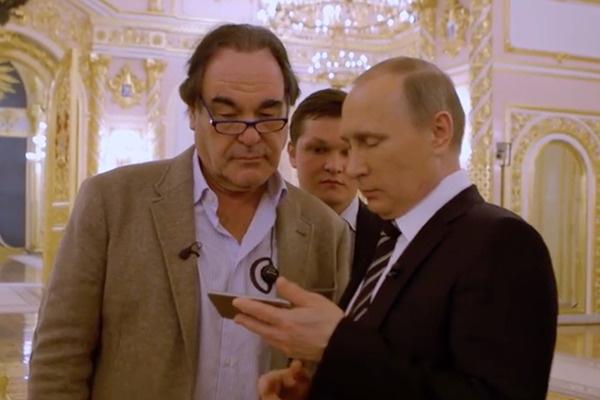 Оливер Стоун несколько раз встречался с Владимиром Путиным в Кремле