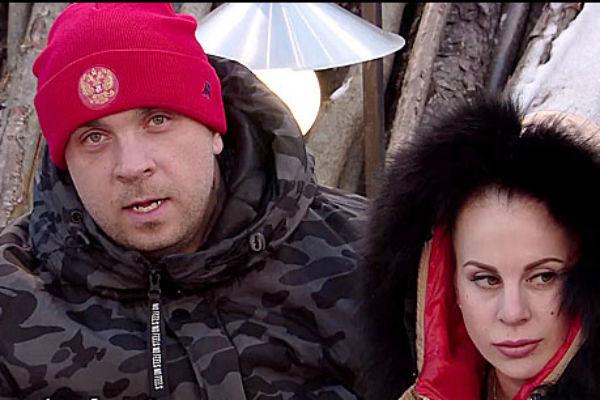 Глеб Жемчугов и Ольга Ветер на телепроекте