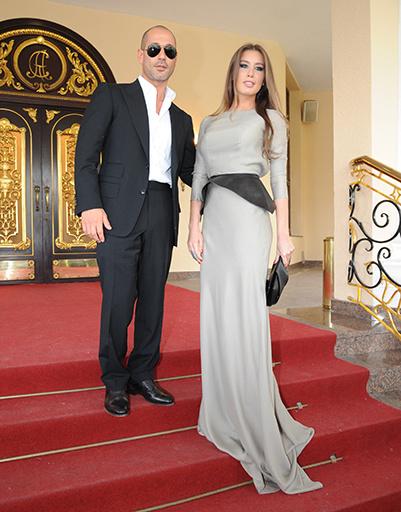 Кети Топурия с женихом Львом Гейхманом