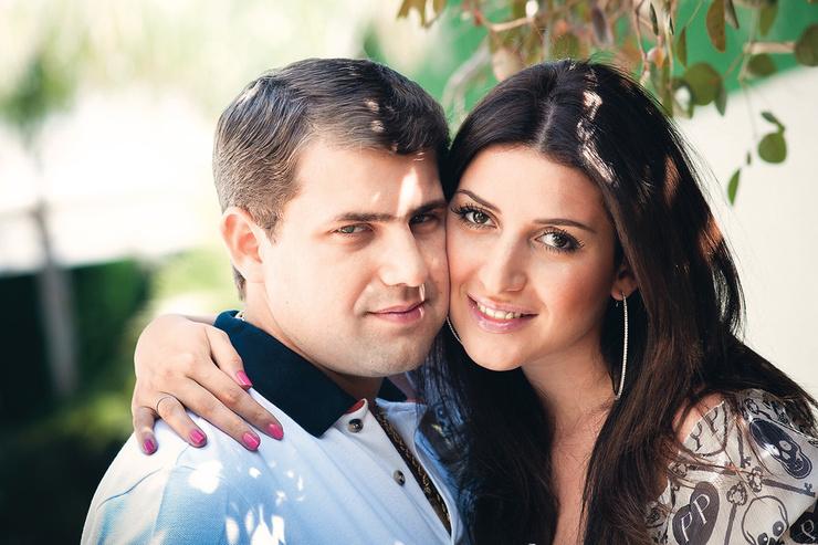 Жасмин и Илан Шор в браке почти 10 лет