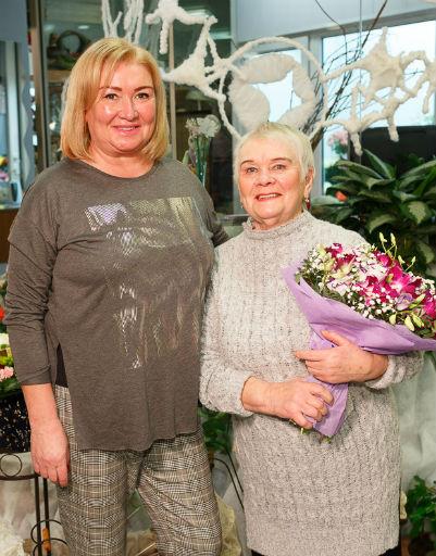 Мама и бабушка Ксении Бородиной