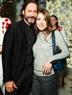 Юлия Барановская и ее спутник