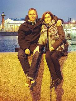 Иван Охлобыстин и его супруга Оксана