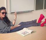 Юлия Началова стала плохой училкой