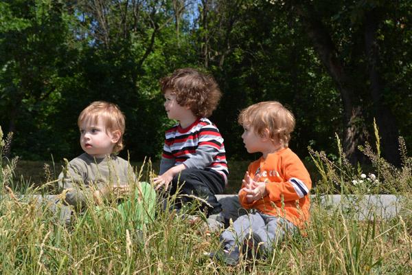 Мальчики растут очень разными, у каждого - свой характер