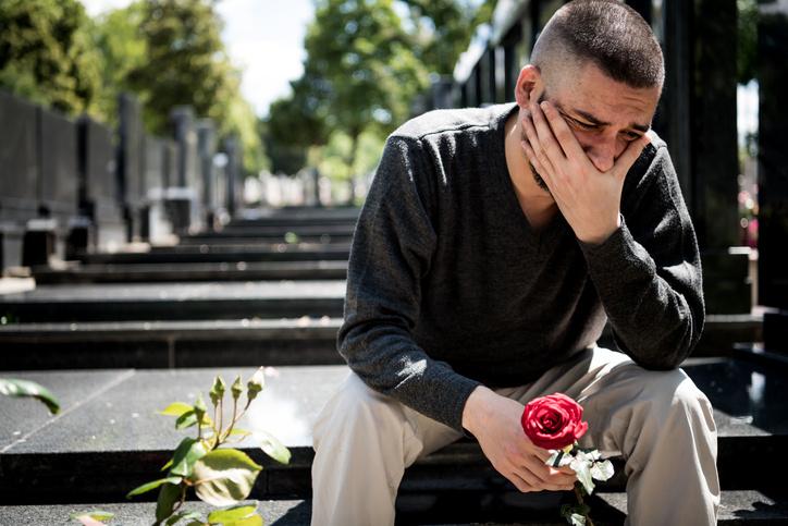 Обычно на похоронах присутствует лишь несколько родственников