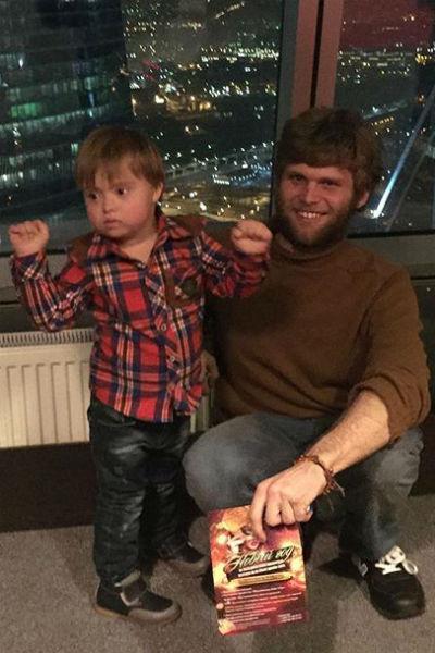 Сыновья Эвелины Николай и Семен