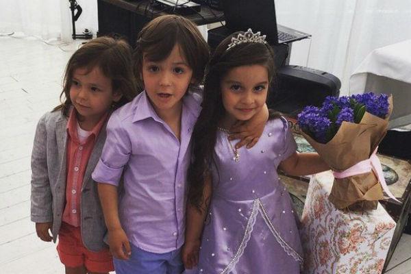 Богдан и Сами проводили вместе праздники