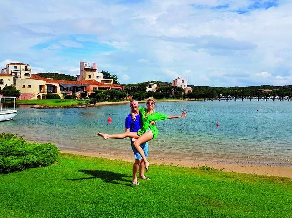 Екатерина и Артем выбрали для медового месяца Италию