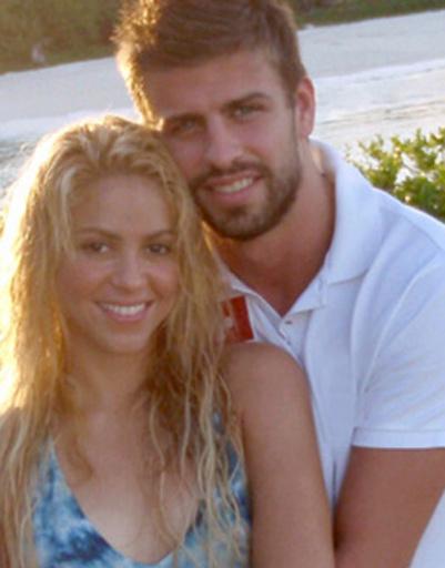 «Позвольте представить мое солнце», – написала Шакира в Twitter и выложила совместную фотографию с Жераром Пике.