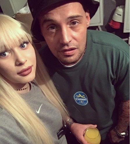 Яна Шевцова с Гуфом