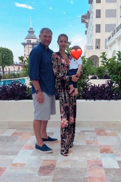 Александр Овечкин предпочитает отдыхать с семьей