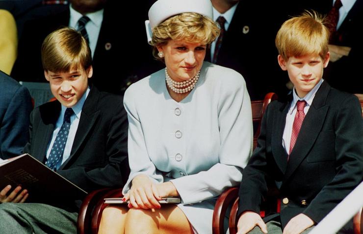 Принц Уильям винит в смерти матери журналистов