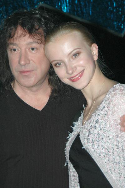 Кузьмин с женой Екатериной