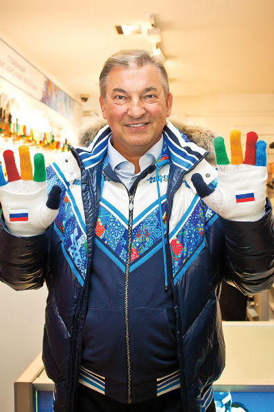 Карьеру Третьяк завершил в 32 года, но со спортом не расстался. Сочи, 2014 год