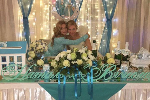 Евгения Феофилактова с сестрой Натальей