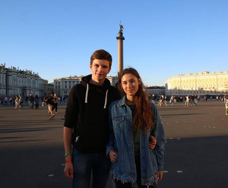 Дина Немцова и ее бывший возлюбленный Дмитрий