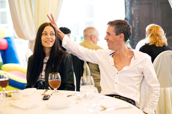 Алексей Панин с женой Людмилой