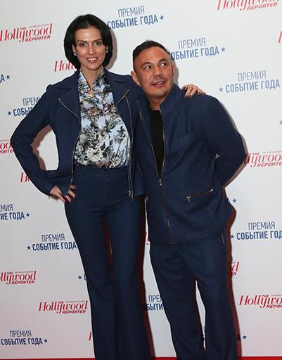 Костя Цзю с подругой Татьяной