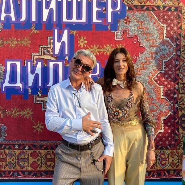Марина Валеева с супругом — отчимом Моргенштерна