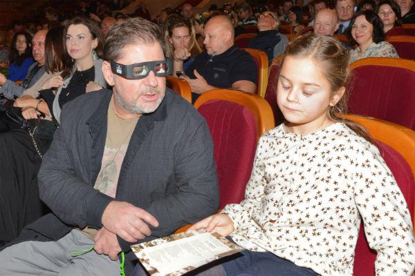 Александр Цекало с дочерью