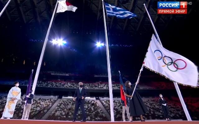 Олимпийский флаг пока еще развивается в Токио
