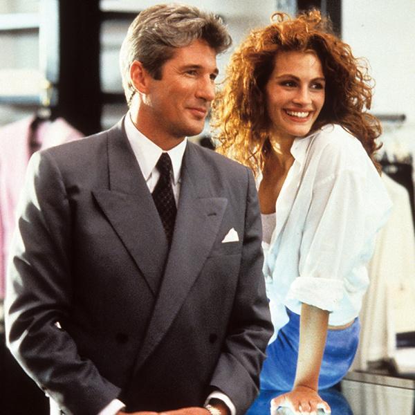 Вайнона Райдер и Мег Райан отказались от роли в фильме «Красотка», а Джулия Робертс согласилась и уговорила Ричарда Гира