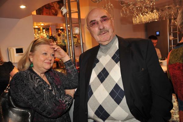 Актриса с супругом - режиссером Леонидом Эйдлиным