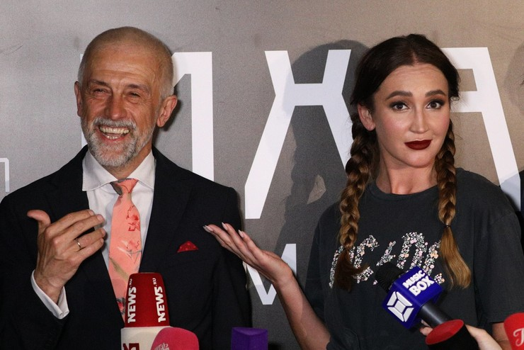 Эдуард Бояков и Ольга Бузова