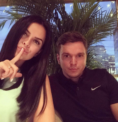 Антон Гусев и Виктория Романец сыграли тайную свадьбу около месяца назад