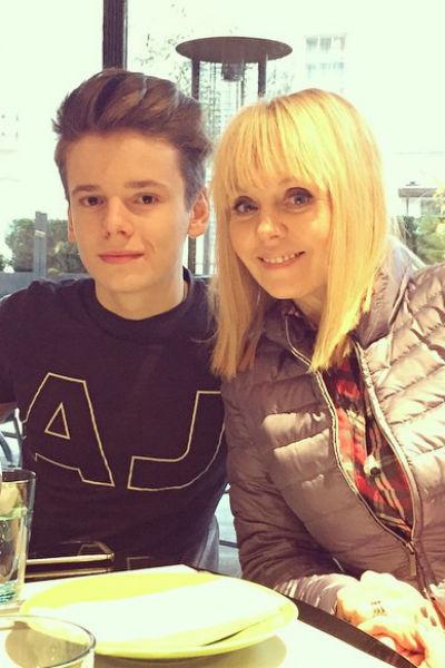 Валерия с сыном Арсением