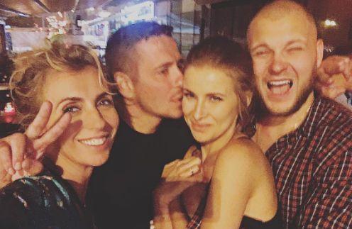 Светлана Бондарчук на вечеринке в честь Таты