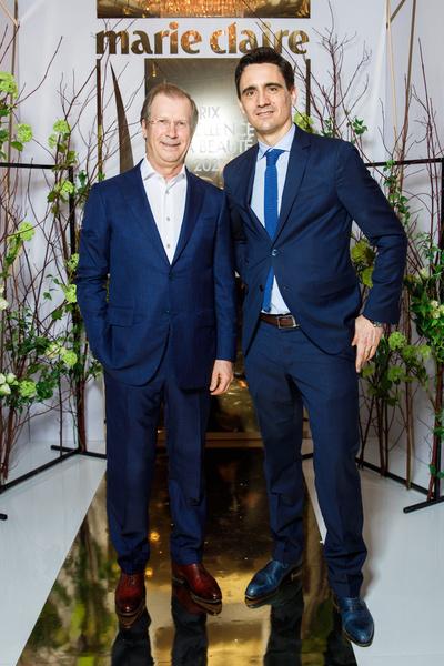Виктор Шкулев (Hearst Shkulev Publishing) и Vincent Darbo (CHANEL)