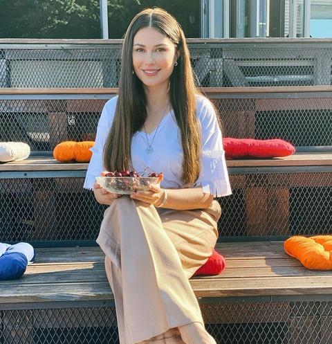 Ольга Ушакова рассказала, как худеет после четвертых родов