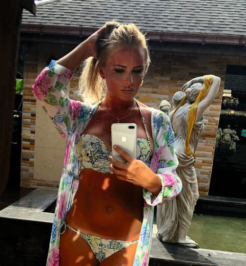 Дана Борисова отметила полтора года трезвости на острове Самуи