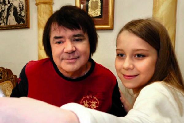 Евгений Осин с внебрачной дочерью Настей