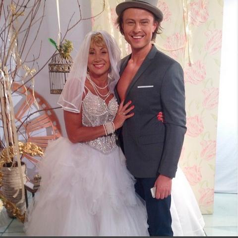 Прохор с бывшей женой Ларисой Копенкиной
