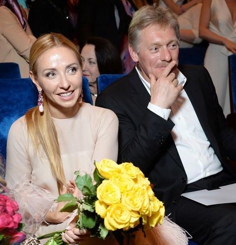 Татьяна Навка с мужем Дмитрием Песковым