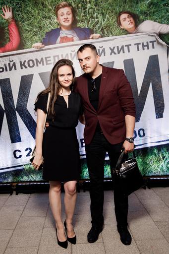 Григорий Кокоткин со спутницей