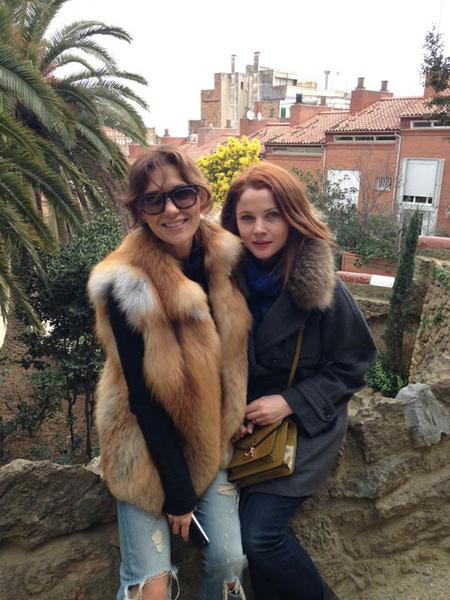 Чтобы немного отвлечься, Екатерина Климова в компании подруги Екатерины Вуличенко отправилась в путешествие по Испании