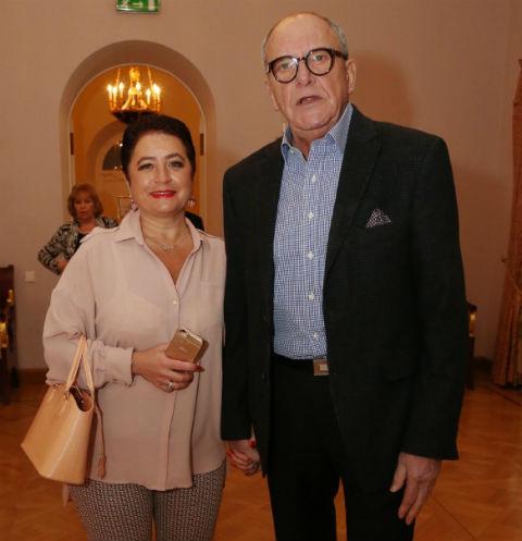 Эммануил Виторган и его супруга Ирина
